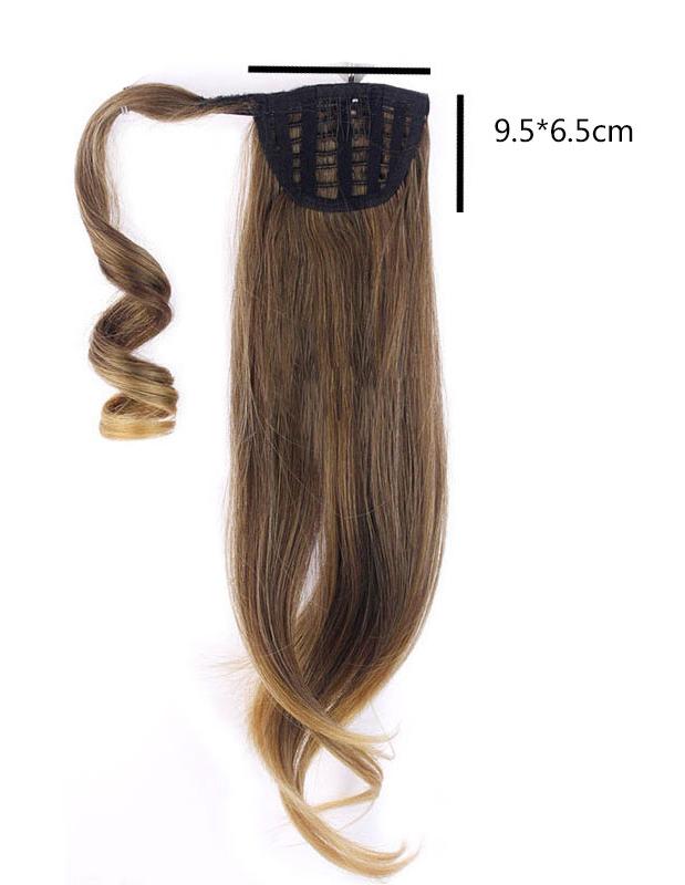 Kucyk Doczepiany 60cm 26 18 27 średni Blond Z Ciepłymi Tonami Cameron Hair Pl